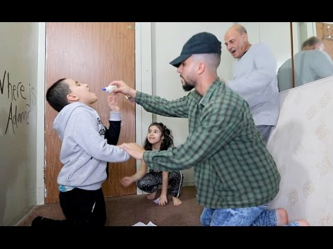 FEEDING KIDS GLUE PRANK GONE WRONG!!!