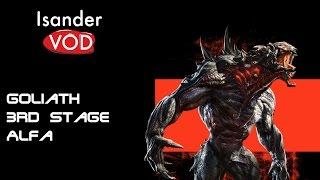 Evolve Gameplay Walkthrough PL - Odc. 1 Big Alpha - Goliath full Evolved 3rd stage