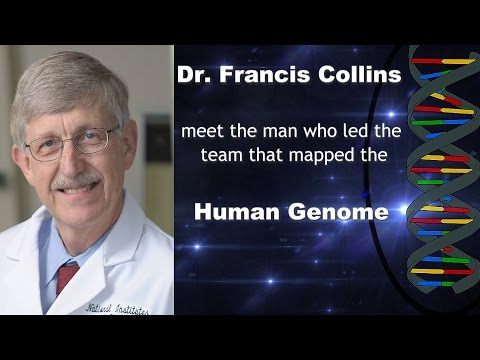 Dr Francis Collins Human Genome Project videos DNA National Institute of Health Brent Holland Show