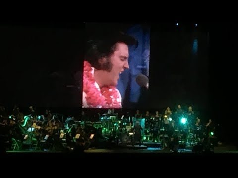 VERSION LONGUE, Elvis with the Royal Philharmonic Orchestra, presentation by Priscilla, O2 Londres!