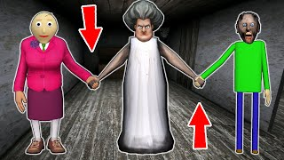 Granny vs Ice Scream vs Scary Teacher - funny horror animation (51-60 part. all series in a row)
