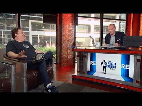 Jeff Garlin  in Studio on The Rich Eisen Show (Full Interview) 10/21/14
