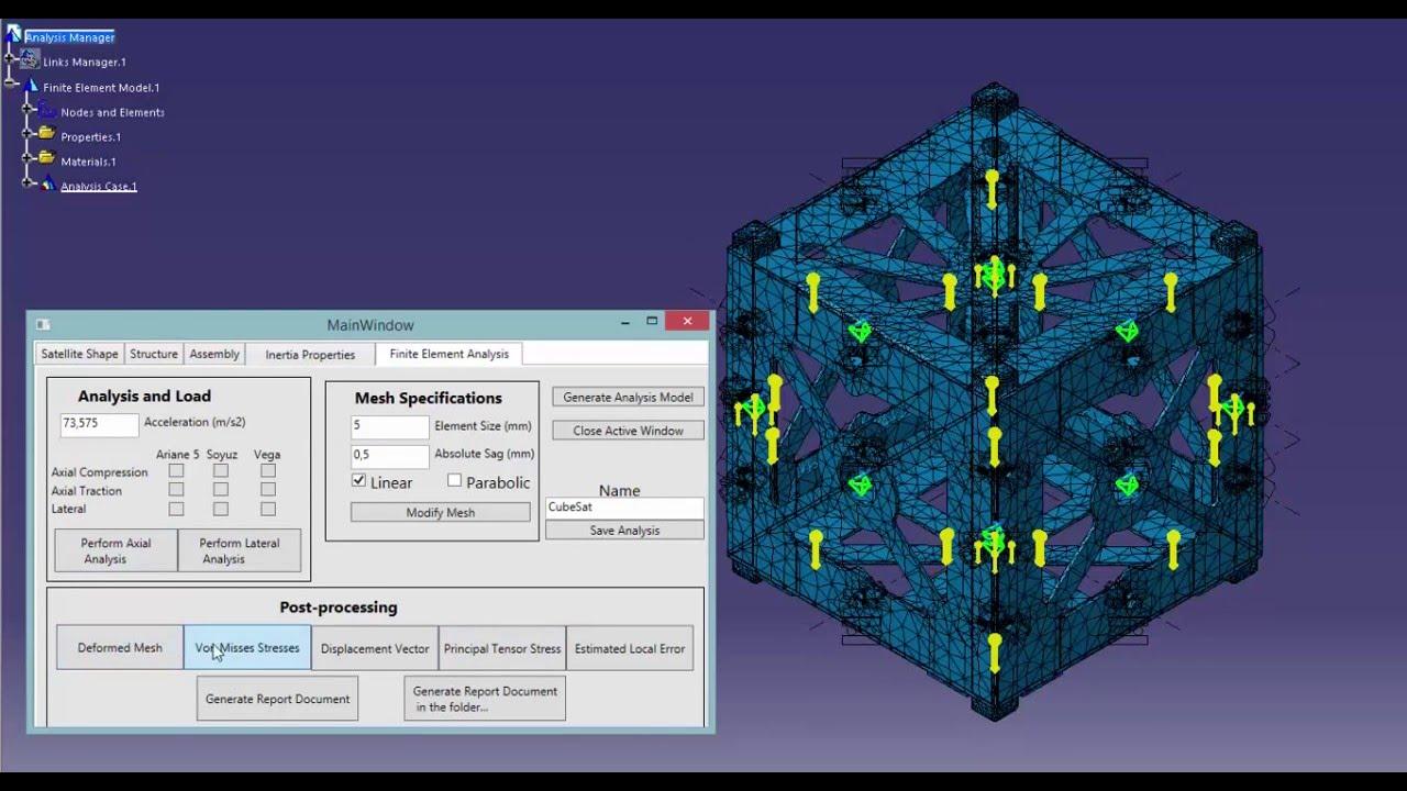 Parametric Changes Control CubeSat (Common Data Model)