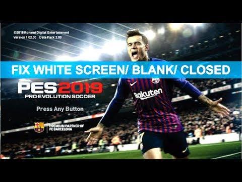 pes 2017 cpy white screen fix