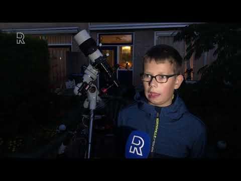 11-jarige astrofotograaf Davy wint internationale prijs met nevelfoto