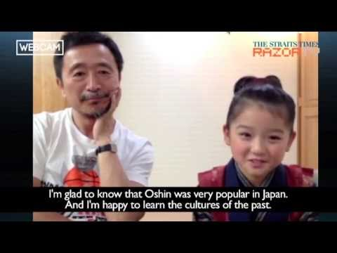 8-year-old plays Oshin in movie version