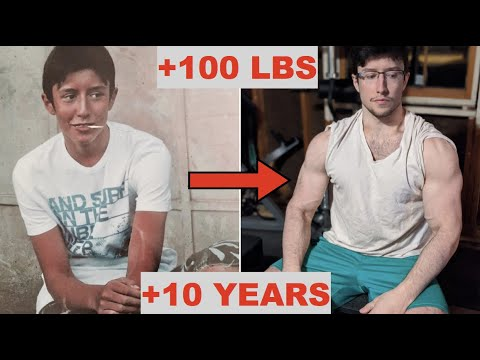 10 Year Natural Transformation 15-25 (from 110 to 210 lbs)