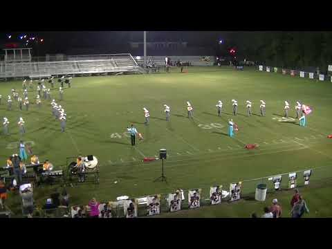 Ashford High School Marching Band 2018-19 (Abbeville Game)