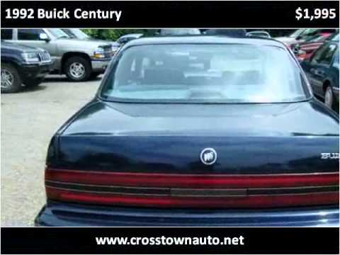 1992 buick century used cars st paul mn youtube. Black Bedroom Furniture Sets. Home Design Ideas