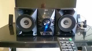 Mini System Sony Mhc-ecl77bt Bluetooth Nfc À VENDA