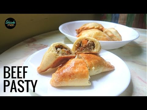 Shiokman Beef Pasty (Baked Pastry Puff)