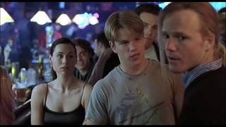 DISCUSSION DANS LE BAR - Will Hunting (1997, Gus Van Sant)