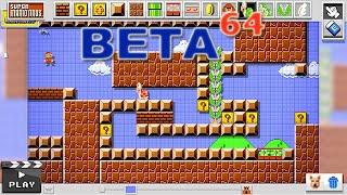 Beta64 - Super Mario Maker