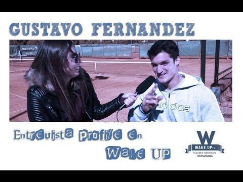 Entrevista Profile a Gustavo Fernandez en Wake UP tv