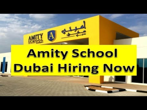 Amity School Dubai Need Staff Salary 9000AED Apply Fast | Hindi Urdu |