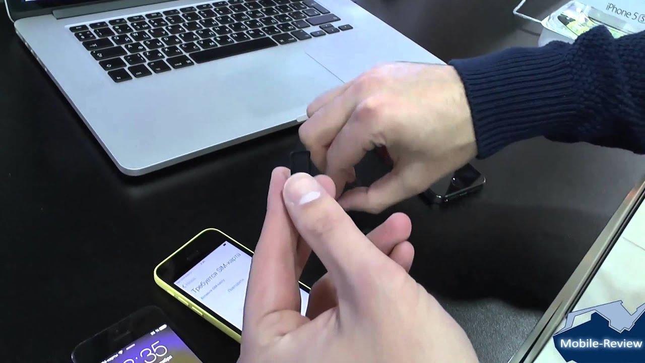 знакомство с iphone se