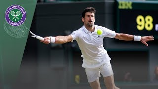 Novak Djokovic vs Hubert Hurkacz Wimbledon 2019 Third Round Highlights