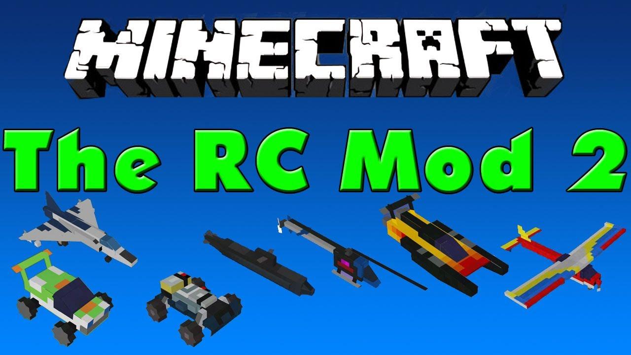 Minecraft Rc Cars Mod