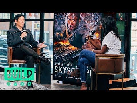 "Chin Han Discusses ""Skyscraper"""