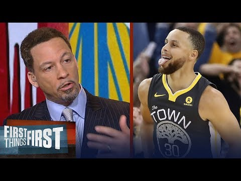 Chris Broussard on why Curry needs to be Warriors' focal point and not KD | NBA | FIRST THINGS FIRST
