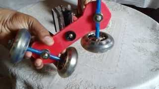 Diy Dslr Dolly Using Skate Wheels And Chopping Board - Cheapest Of All Designs On Youtube.