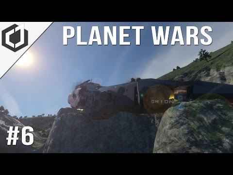 Space Engineers | Planet Wars - Ep 6 | THE ORION!