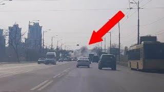 Traveling To Chernobyl (Huge Fire in Kiev)