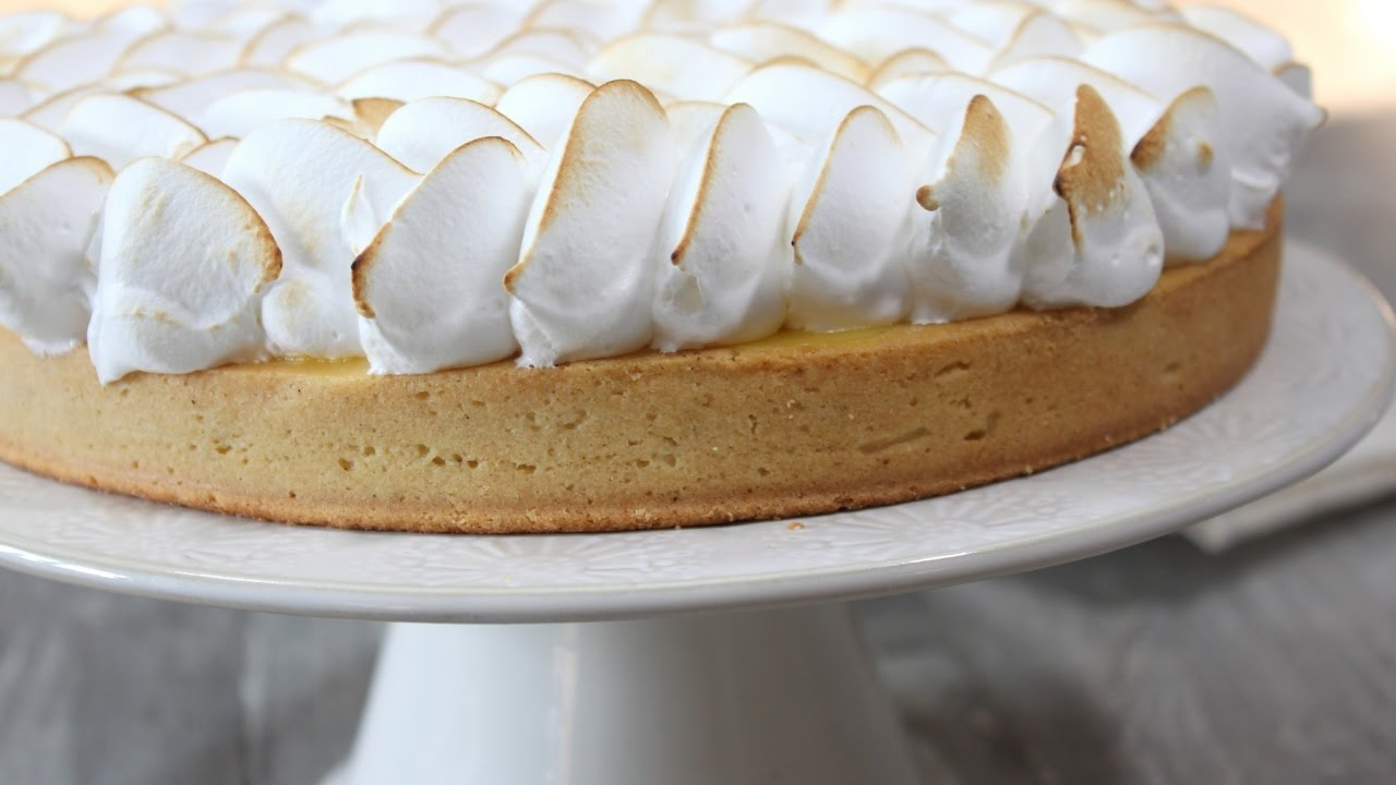 Tarte au citron meringu e facile easy lemon meringue pie youtube - Tarte au citron meringuee facile ...