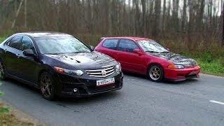 видео: Solaris, Rio, Honda Civic и Accord