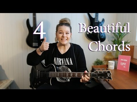4 beautiful chords!! | Adunbeetalks