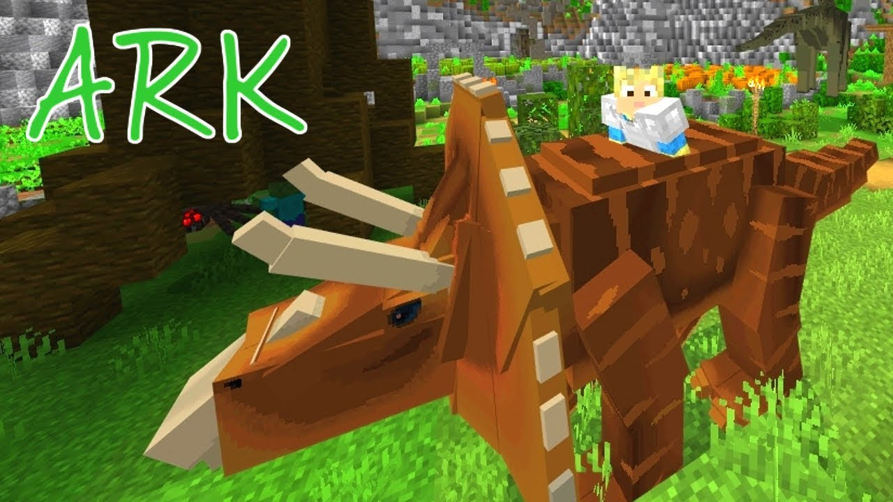 Download Minecraft ARK Survival #01: TÆMMER DINOSAUR!