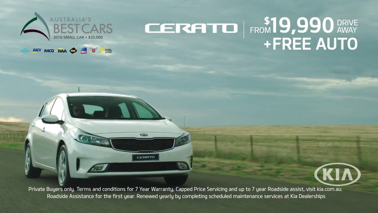 Kia Cerato Australias Best Small Car Under 35000 At Suttons