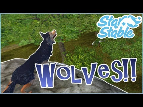 Being Chased By Wolves!! 🐴🐺 Star Stable Online