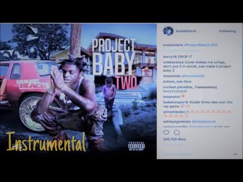 Kodak Black - Roll In Peace (OFFICIAL INSTRUMENTAL) ft. XXXTentacion *Project Baby 2*
