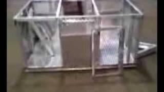 Follis Boys Aluminum Dog Box Trialer