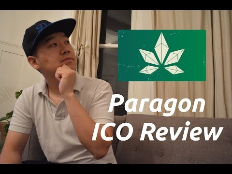 Paragon ICO Review - Crypto For Cannabis! Starts 9/15!