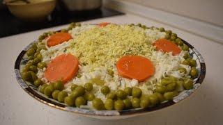 Салат Столичный с курицей / Обалденный и простой рецепт салата
