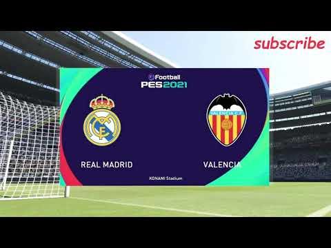 Highlights Real Madrid vs Valencia   Laliga 20/21 gameplay