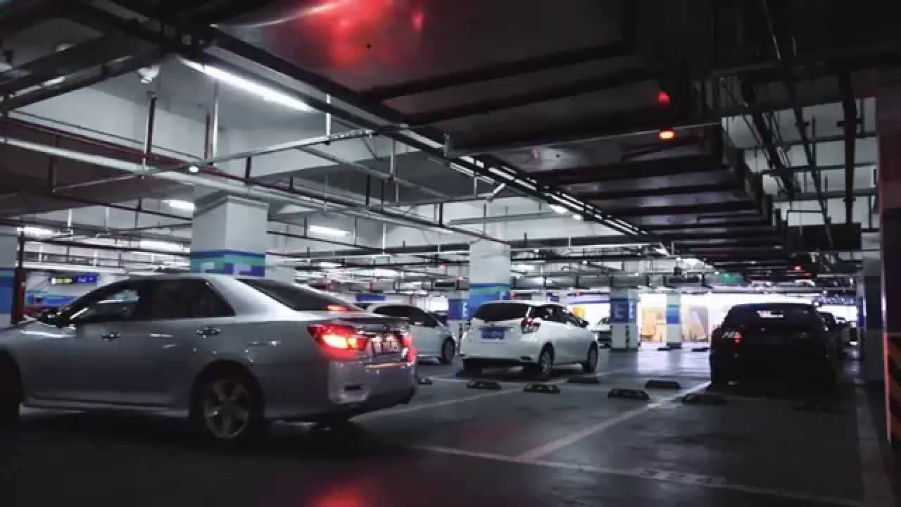 Ake Indoor Ultrasonic Parking Guidance System Youtube