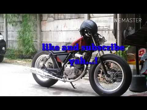 Thunder 125 modif custom Bobber.