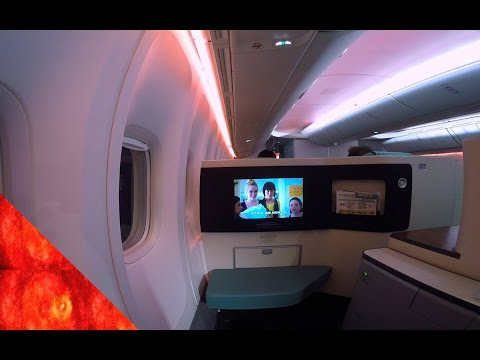 [Part.2]Korean Air New Business Class(prestige suite) 大韓航空