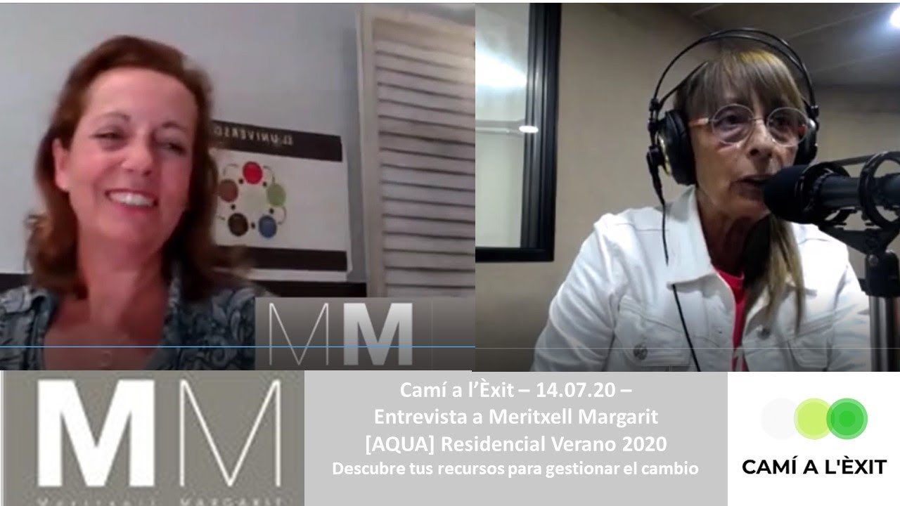 """Entrevista de Imma Arias a Meritxell Margarit BaZiLifeCoach, programa """"Camí de l'èxit"""""""