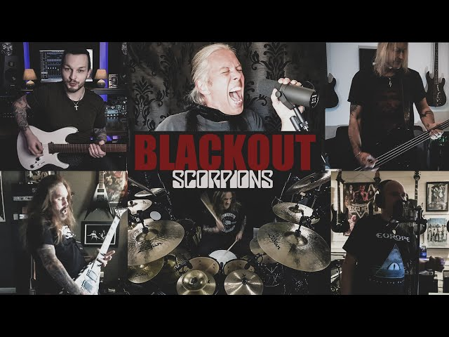 Scorpions  - Blackout feat. Phil Demmel & Danny Vaughn (Full-Band-Cover)