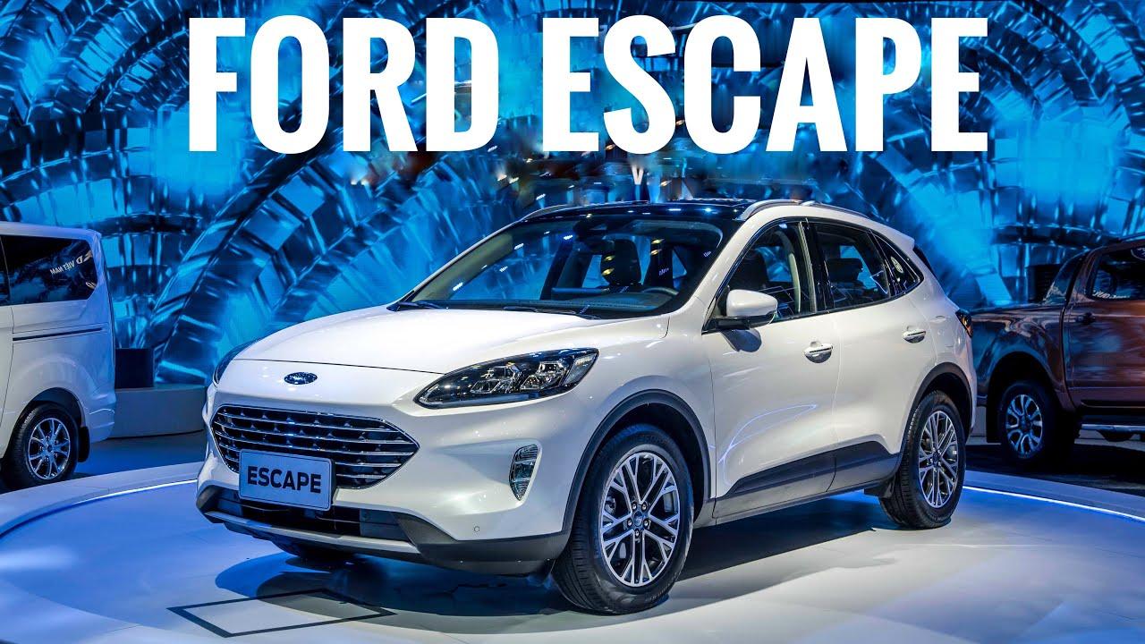 Ford Escape thiết kế mới hiện đại