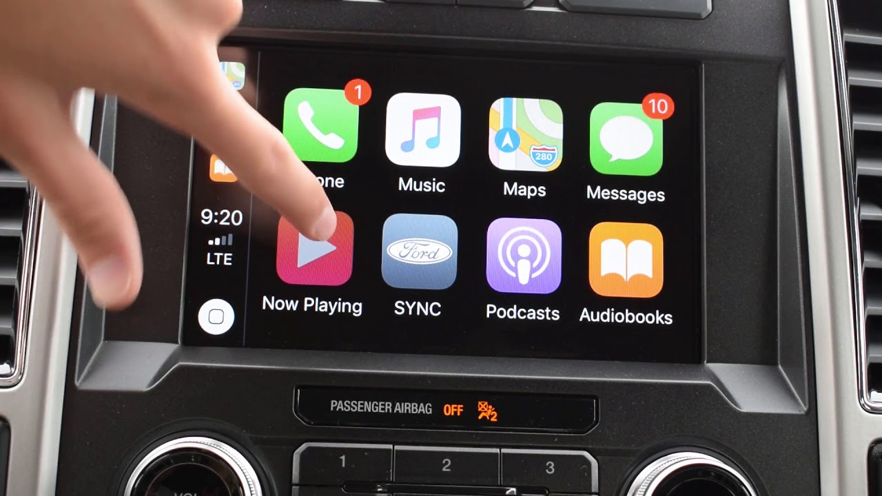 How To Set Up Apple Carplay With Ford Sync 3 System Youtube