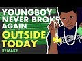 Making a Beat: YoungBoy Never Broke Again - Outside Today (IAMM Remake)