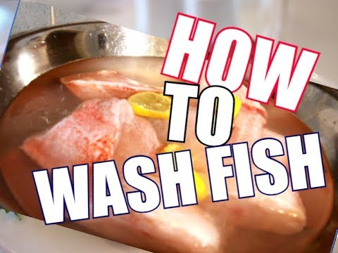 How To Remove RAW SMELL USE !! APPLE CIDER VINEGAR & LEMON TO WASH YOUR FISH  BEFORE COOKING  | 2018