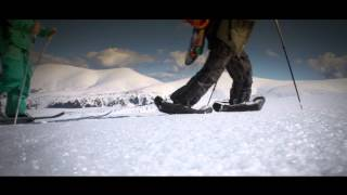 Inflatable snowshoes - great gadget for snowboard freeriders Thumbnail