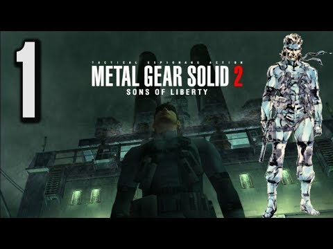 Let's Play Metal Gear Solid 2 HD #1 - What a Tanker