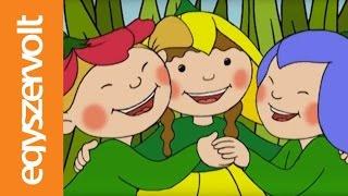 Gryllus Vilmos: Maszkabál - Virágcsokor (rajzfilm, dal, mese gyerekeknek)